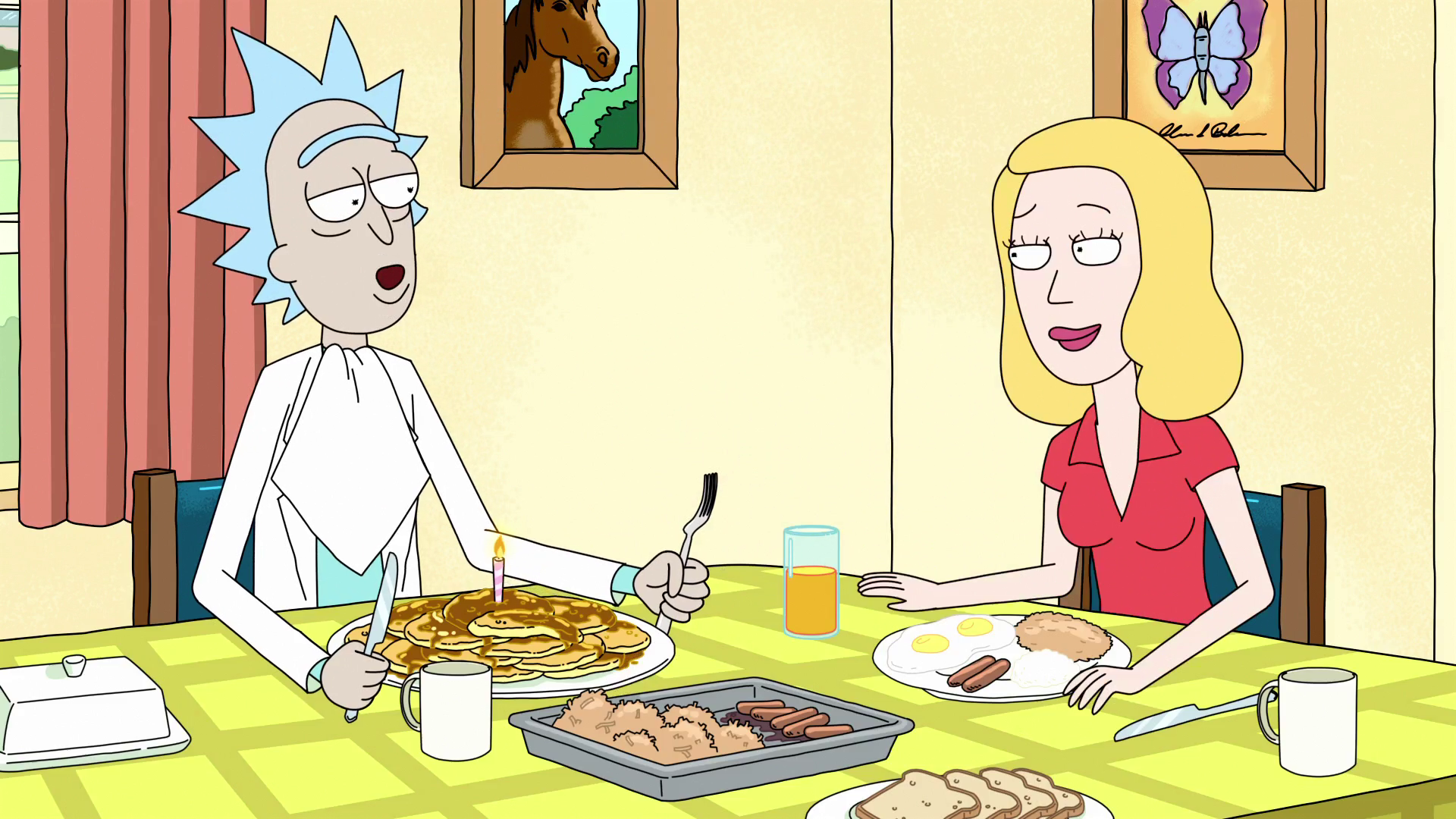 Beth rick and morty porn