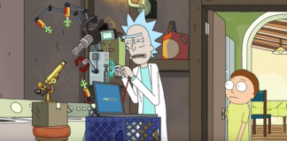 Rick and Morty Retarded